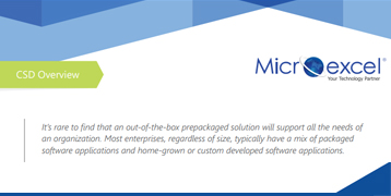 Microexcel Overview Brochure